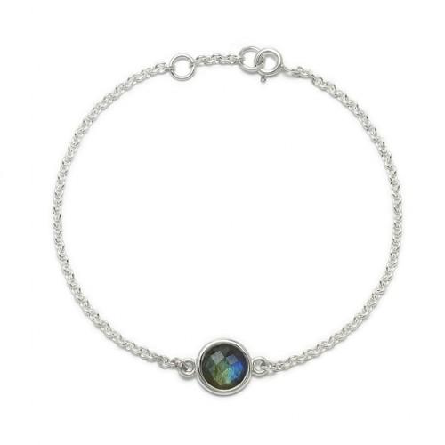 Aura - Bransoletka srebrna z...