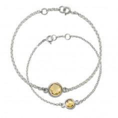Aura - Zestaw srebrnych...